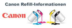 Canon Refill-Informationen