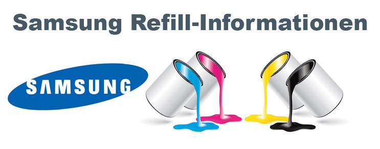 Samsung Refill Informationen